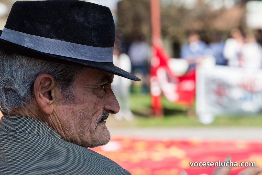 Fotografía de Albérico da Cunha, payador uruguayo de Tacuarembó, Uruguay. ENLACE A URUGUAY